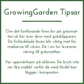 GrowingGarden Tipsar